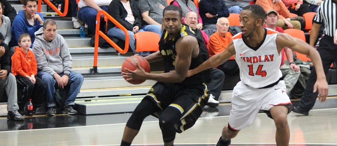 Men's Basketball Scores 82-74 Win At Tiffin