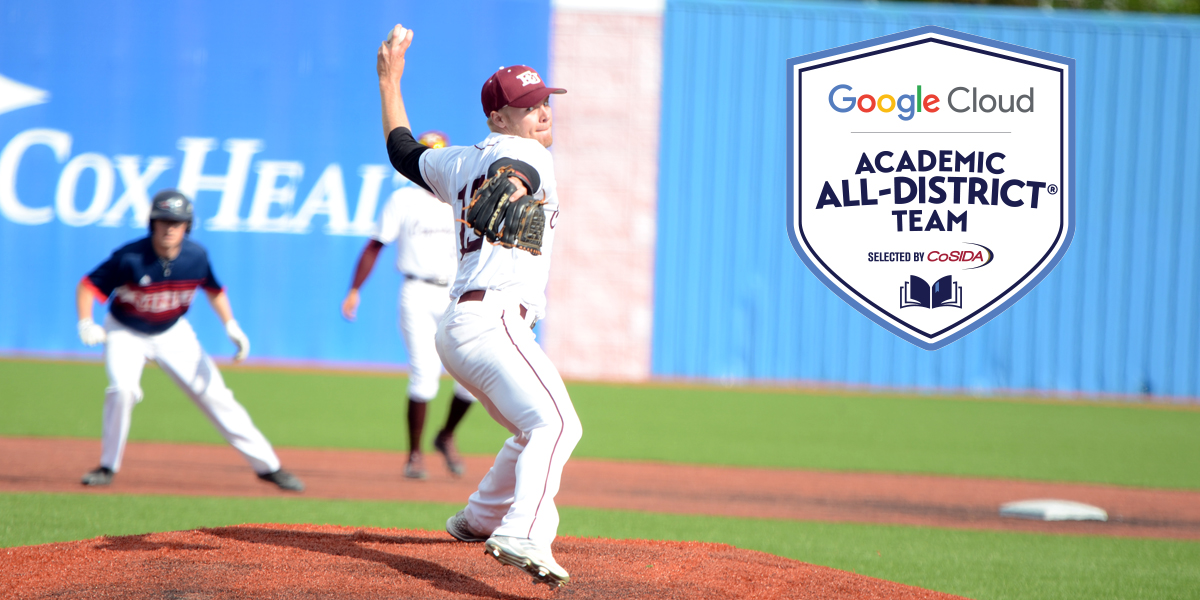 Derek Kennell Named to CoSIDA Google Cloud Academic All-District Team