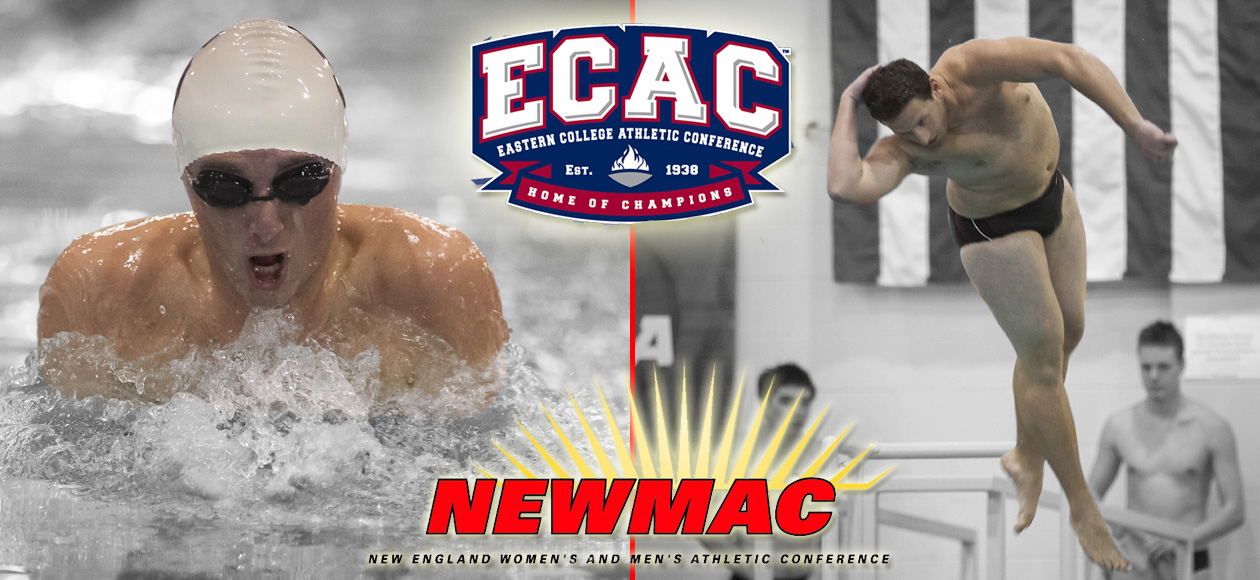 Lewis and Normoyle Pick Up Conference and Regional Men's Swimming and Diving Honors