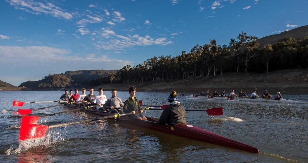 Men's Rowing to Face Stanford, UC Davis at Sunday's Season-Opener in Davis