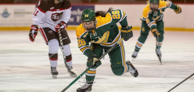 Clarkson falls in OT at St. Lawrence