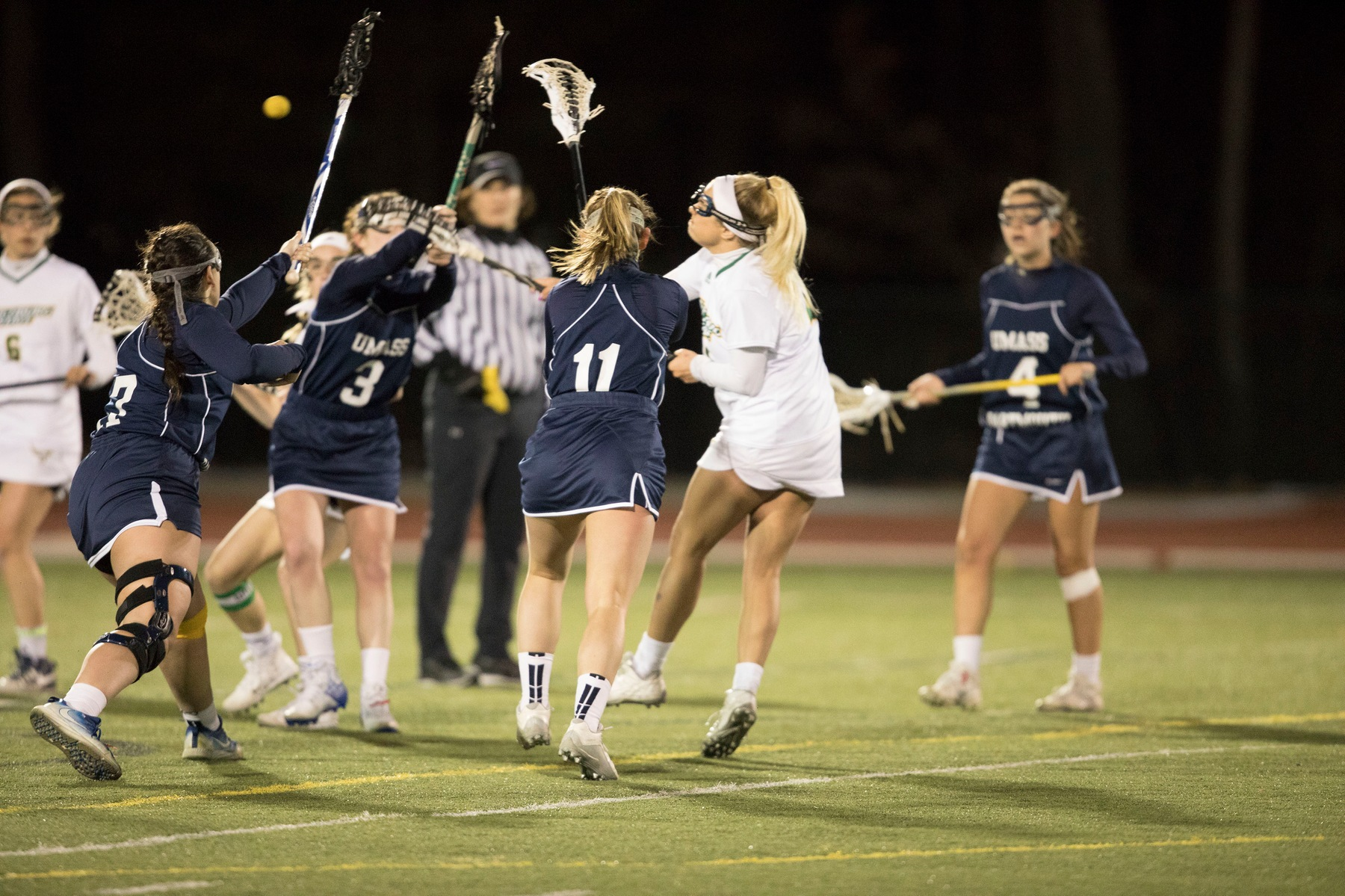 Falcons Fall to Corsairs in Non-Conference Lacrosse Action 13-10