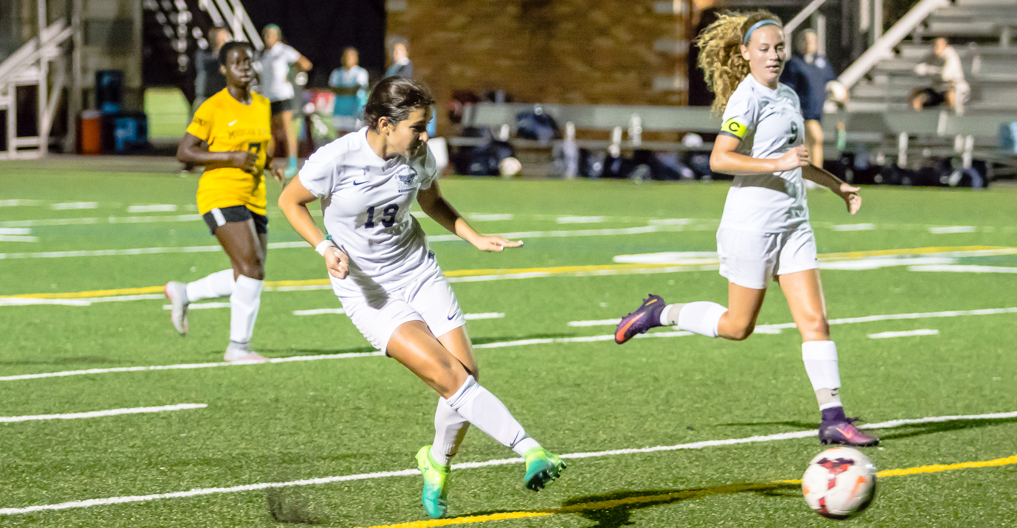 Molic and Sequeira Power Women's Soccer Past Yeshiva in Big Skyline Victory