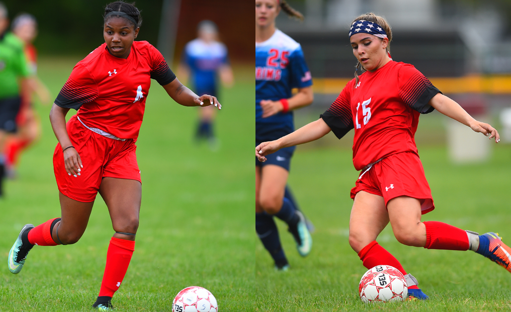 Women's Soccer Duo Honored by NECC