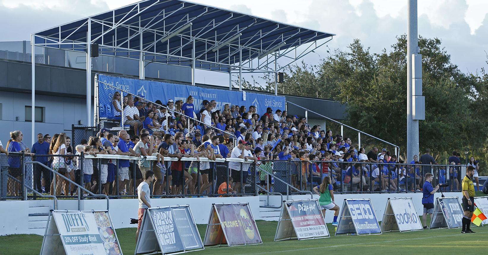 Lynn 1, NCAA Division I 0; Men's Soccer Takes Down FAU in #SoFloShow Opener