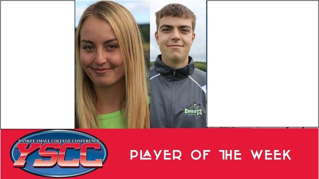 Two Vermont Tech runners win YSCC player of the week honors