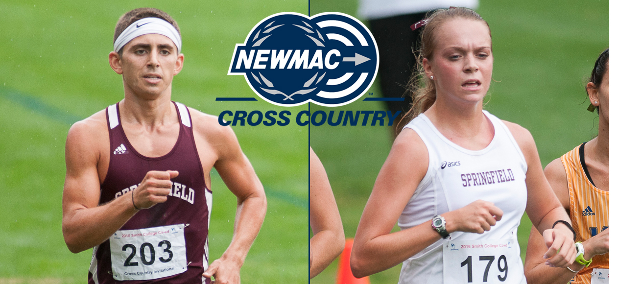 Ross and LaChance Named to Inaugural NEWMAC Cross Country All-Sportsmanship Teams