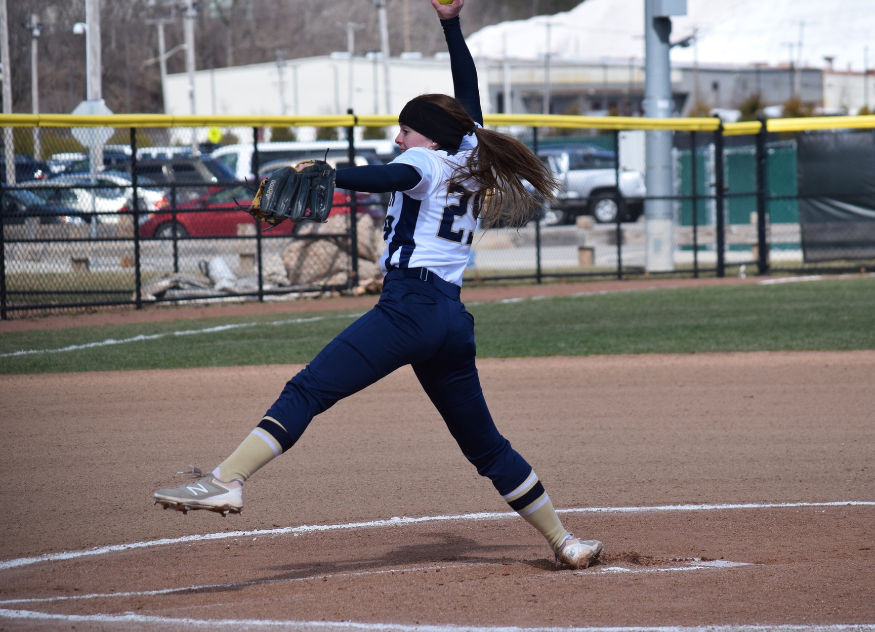 Splitsville: Norwich Grabs Game One, Softball Shutouts Game Two