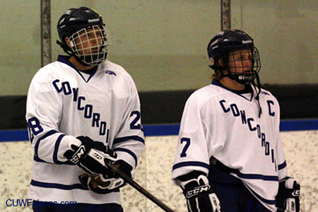 Johnson's hat trick leads Men's Hockey to first win of the season