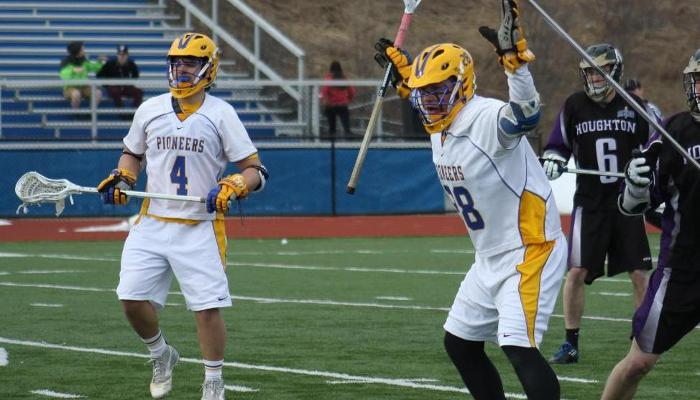Miller's Big Day Lifts Lakers Past Pioneers
