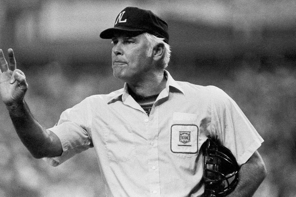 Hall of Fame  umpire Harvey