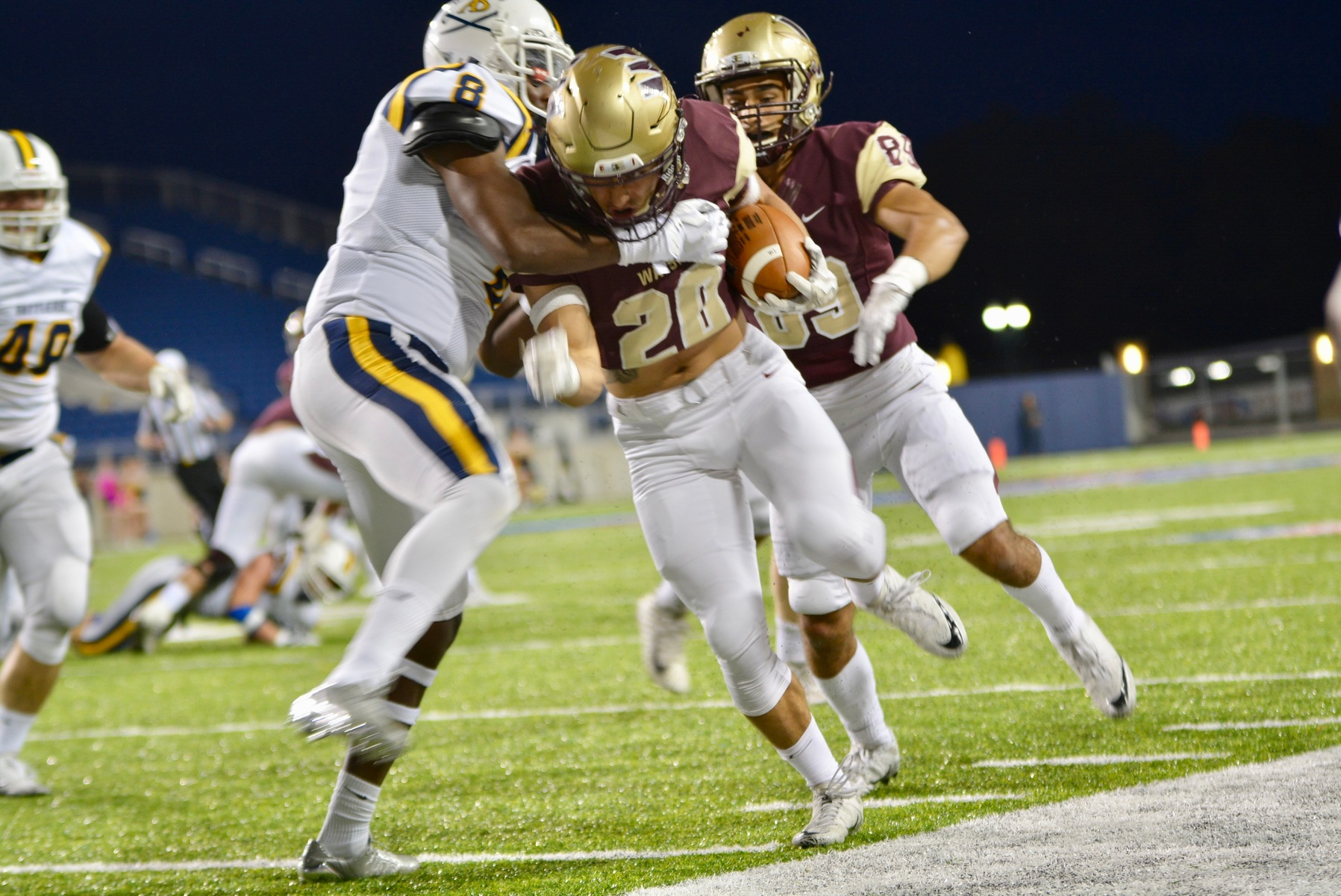Chargers Too Much For Walsh