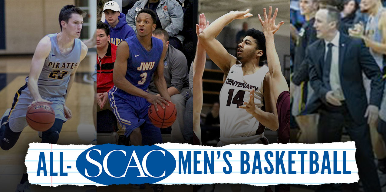 Southwestern's Alexander and Hightower Headline 2018-19 All-SCAC Men's Basketball Selections