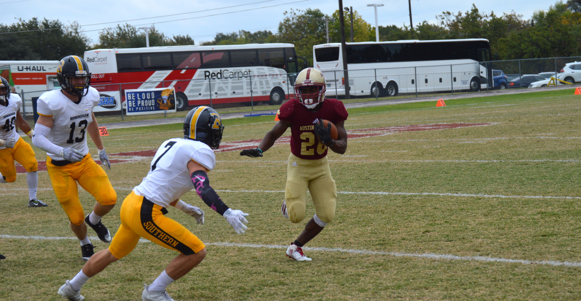 'Roo Football Falls to BSC in Home Finale