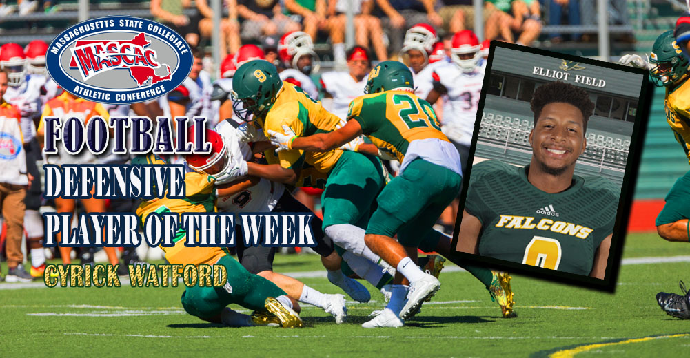 Watford Named MASCAC Defensive Player of the Week
