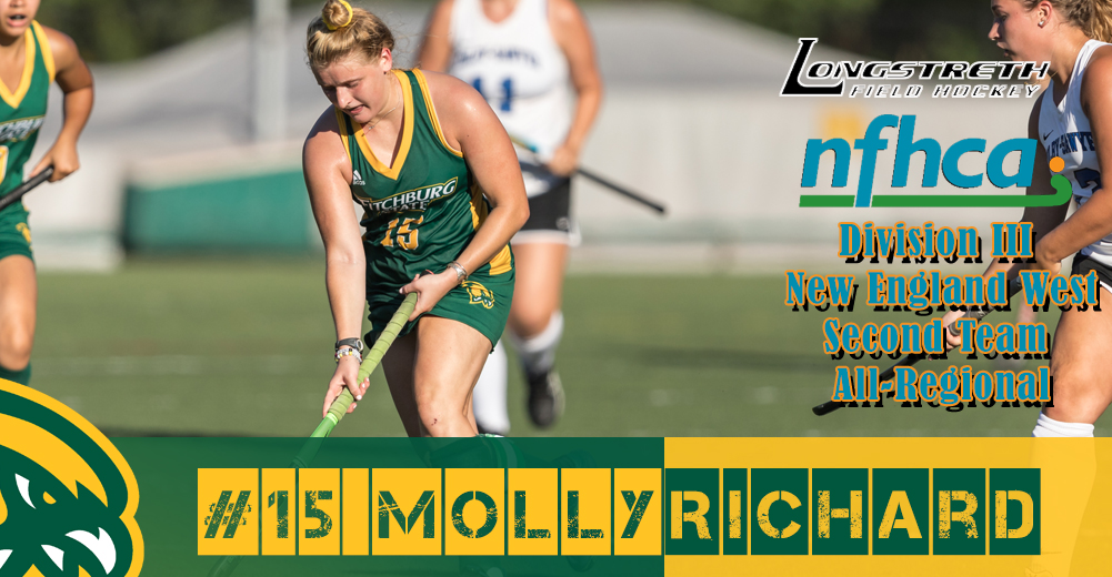 Richard Selected To DIII NFHCA All-Region Team