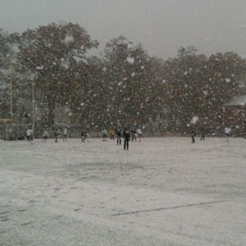 Field Hockey's Match at Springfield Suspended Due to Snow