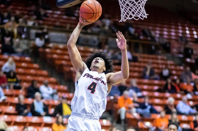 Pacific Struggles Offensively at UNLV, Falls to Rebels 96-70