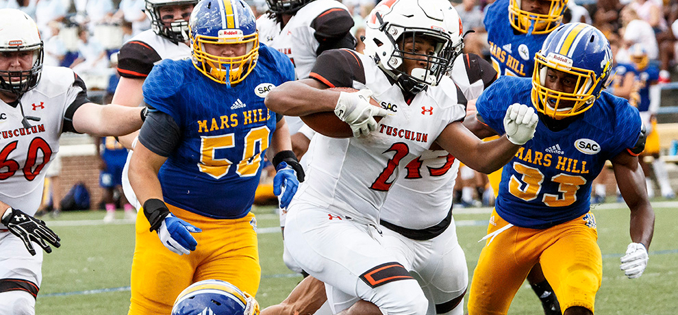 Tusculum edges Mars Hill 31-28 in key SAC match-up