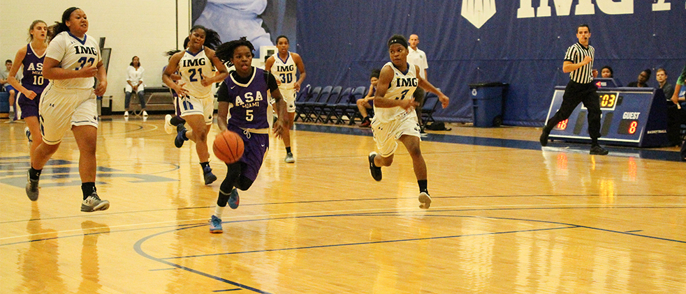 Jenkins & Bostick Combine for 43; Lady Storm Hoops Falls to IMG