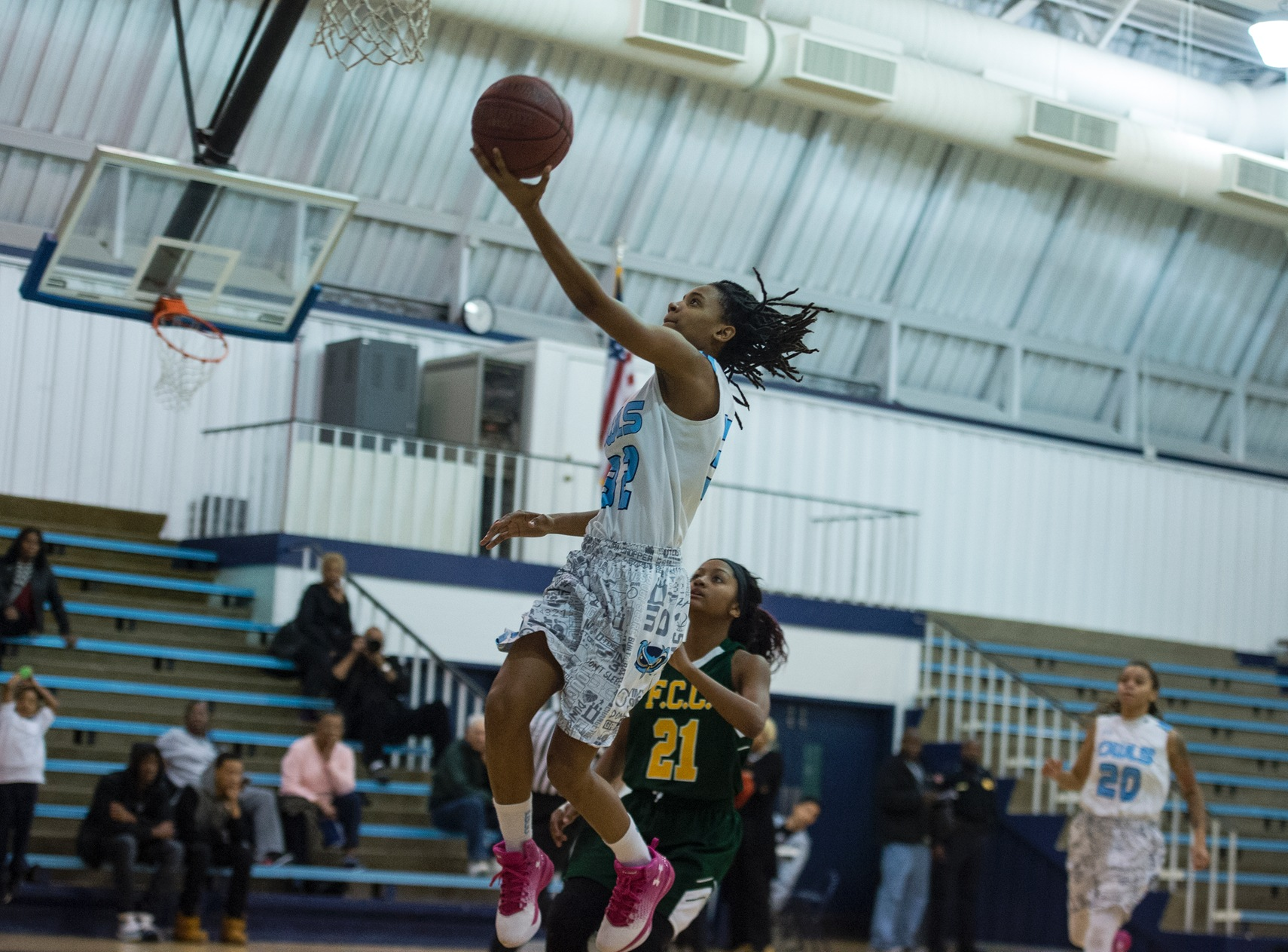 Greene's 25 Points Powers Prince George's Women's Basketball Past Butler County 62-57 And Into NJCAA Region XX Championship Game