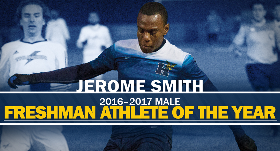 JEROME SMITH - MALE FRESHMAN ATHLETE OF THE YEAR