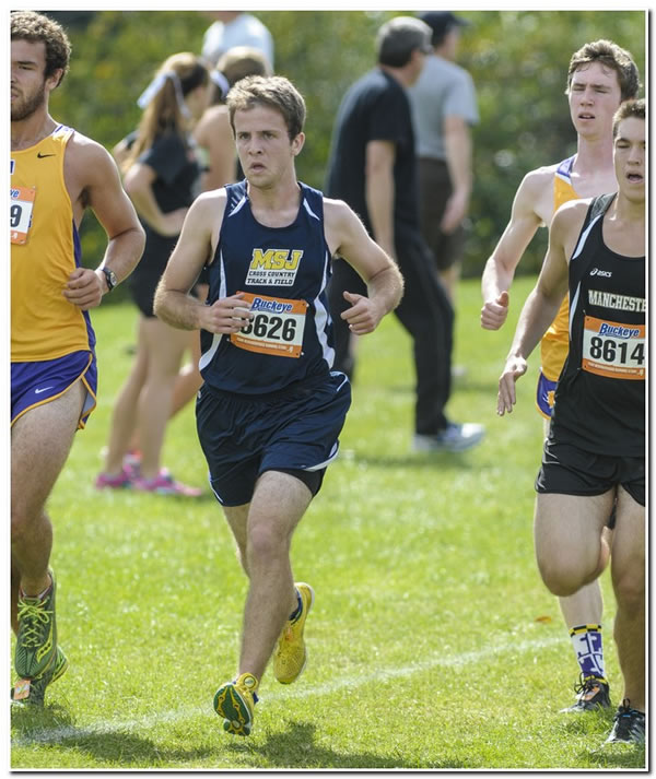 Lions' men's cross country squad ends season at the Great Lakes Regional