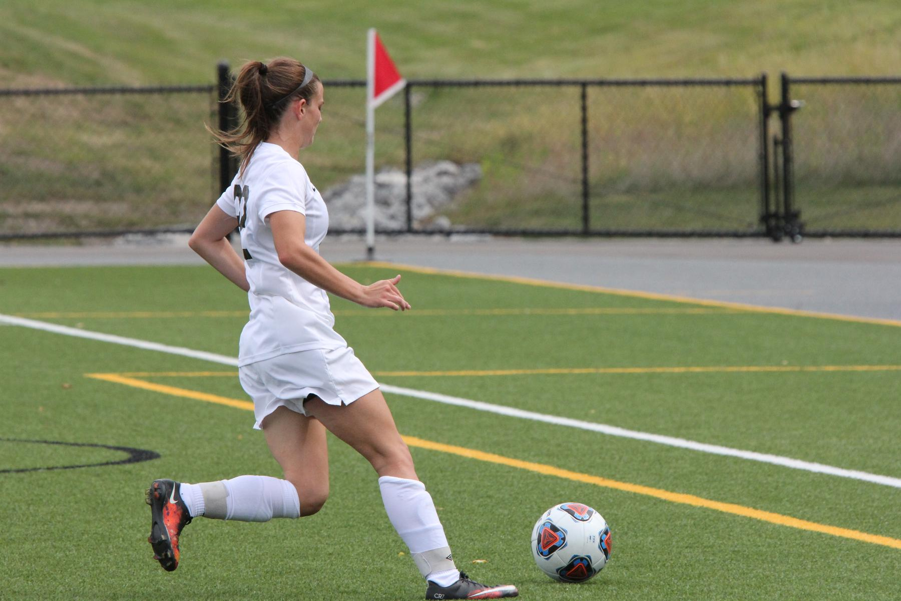 Women's Soccer Breaks Records in Win over Gallaudet