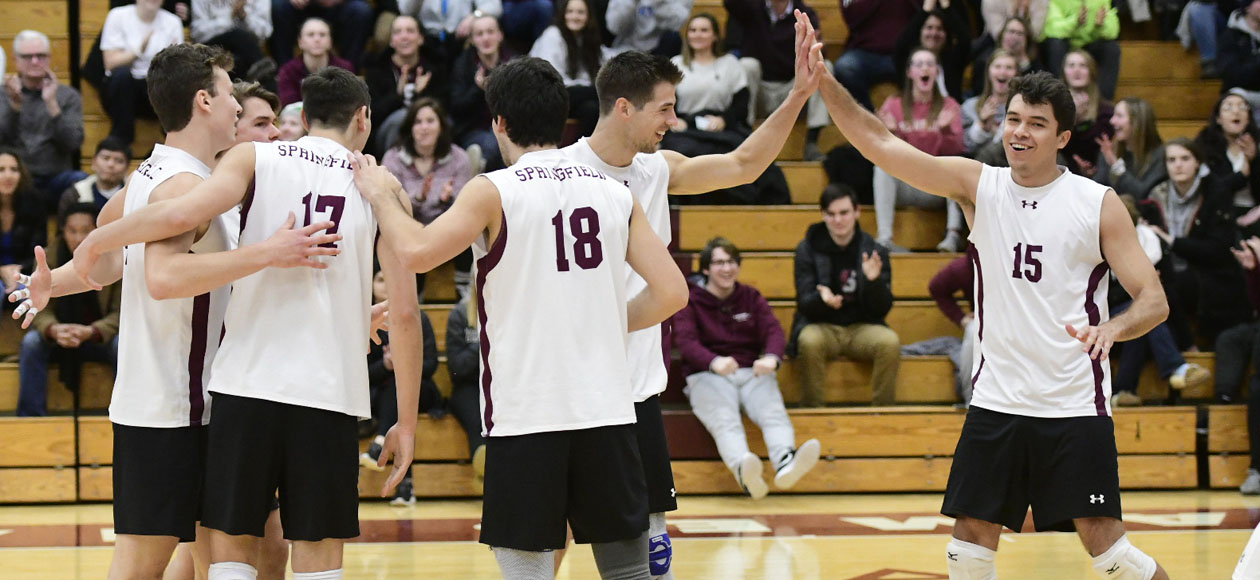 No. 1 Men's Volleyball Sweeps Marymount In International Volleyball Hall of Fame Morgan Classic