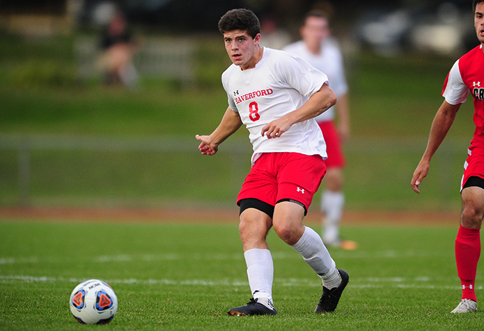 Corkery Serves Up Men's Soccer Win vs. Ursinus