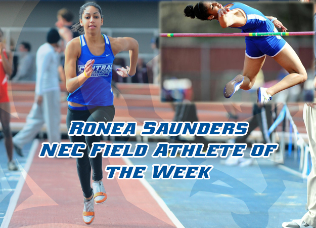 Saunders: 2X 2013 NEC Athlete of the Week