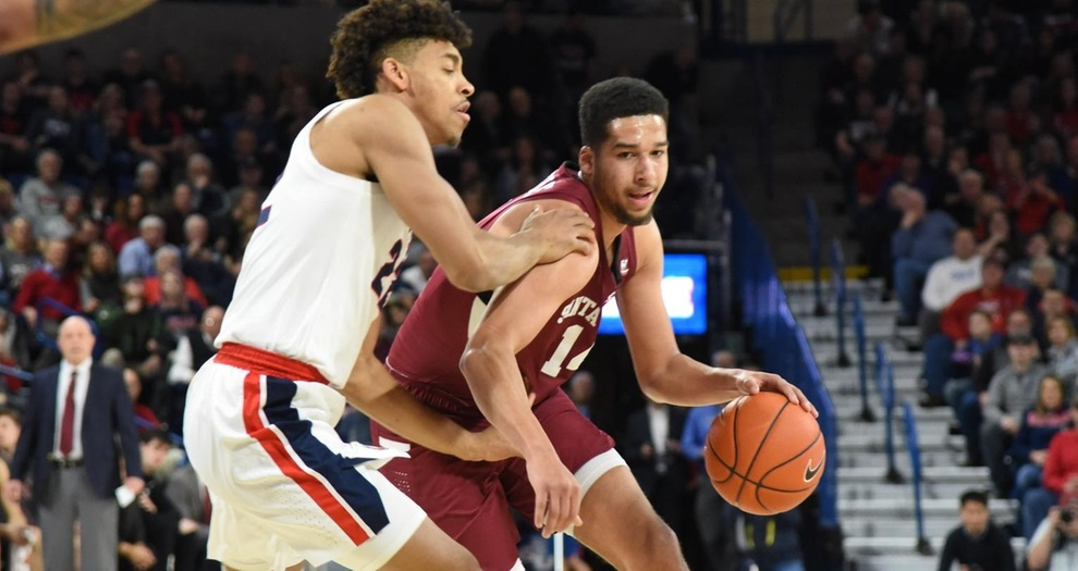 Gonzaga Rolls Past Men's Basketball