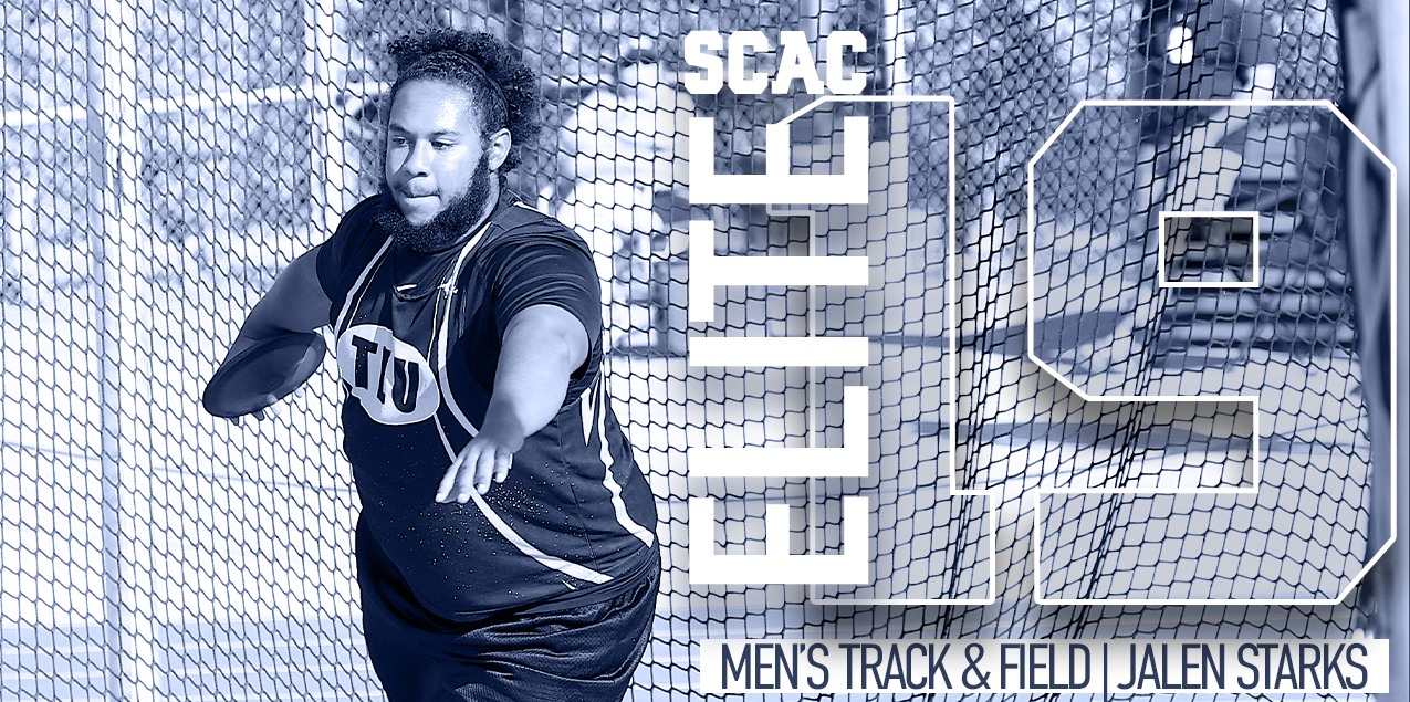 Texas Lutheran's Starks Wins SCAC Men's Track & Field Elite 19 Award
