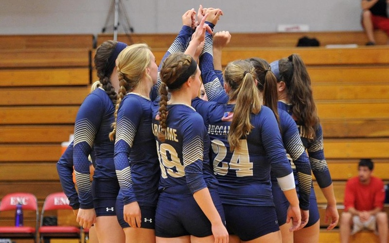 Harrison, Coughlin Combine For Seven Kills, Two Blocks As Volleyball Falls At UMass Dartmouth