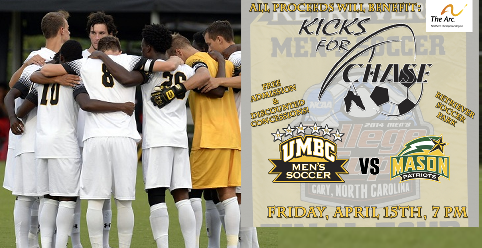 "Kicking Off for a Cause: UMBC Men's Soccer Hosts George Mason at ""Kicks for Chase"""