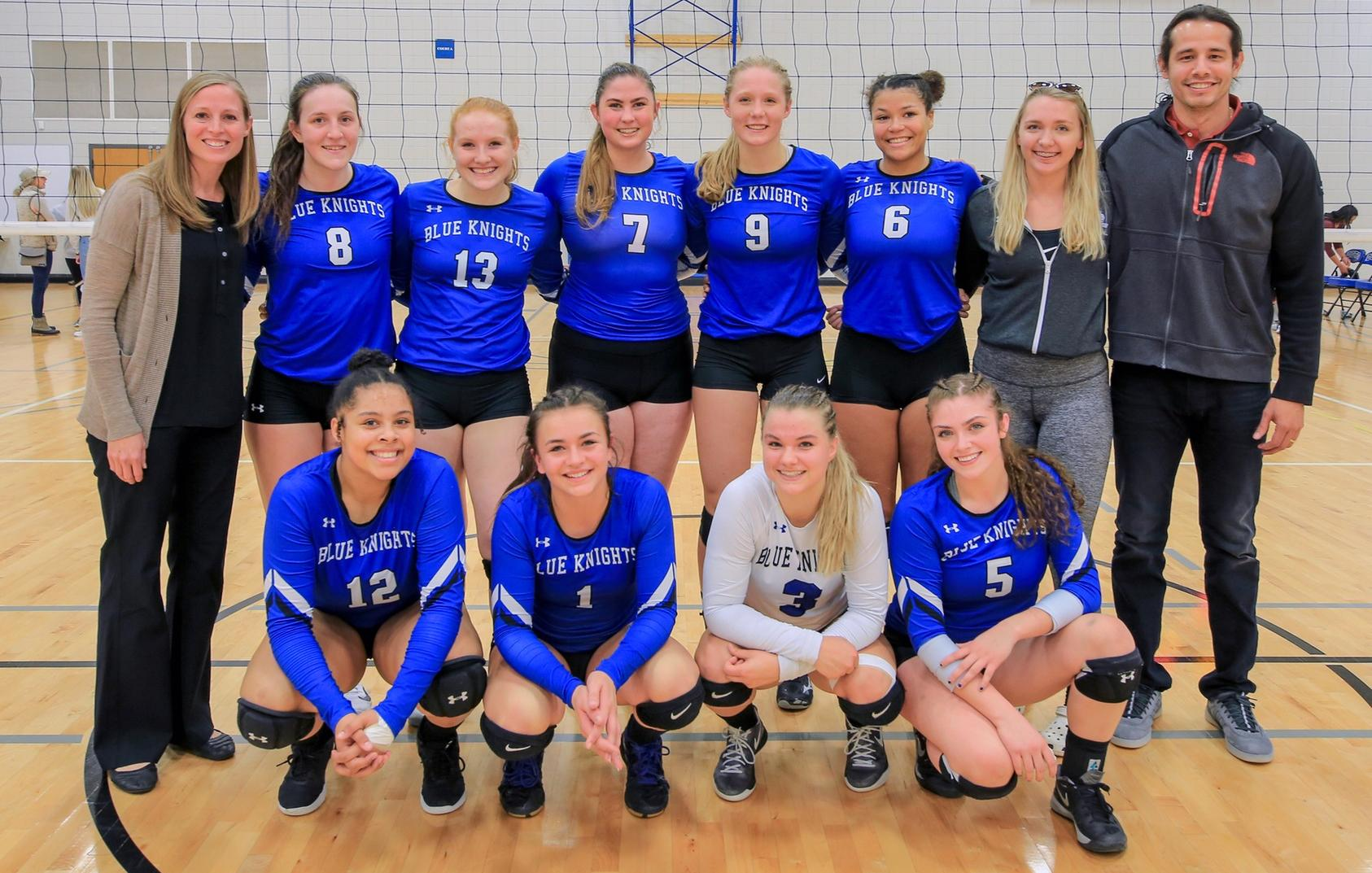 Volleyball Advances to Region 13 Final Four