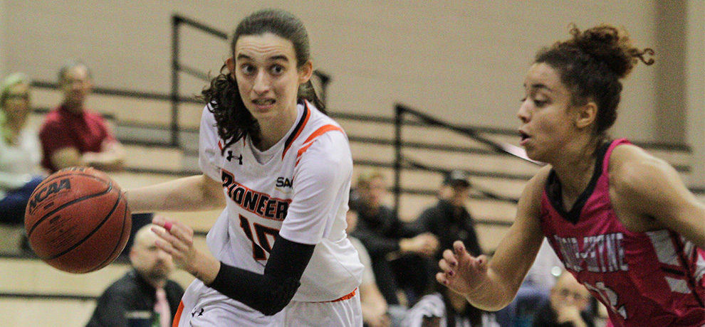 Fourth-quarter surge lifts Pioneers to 73-65 win over Lenoir-Rhyne