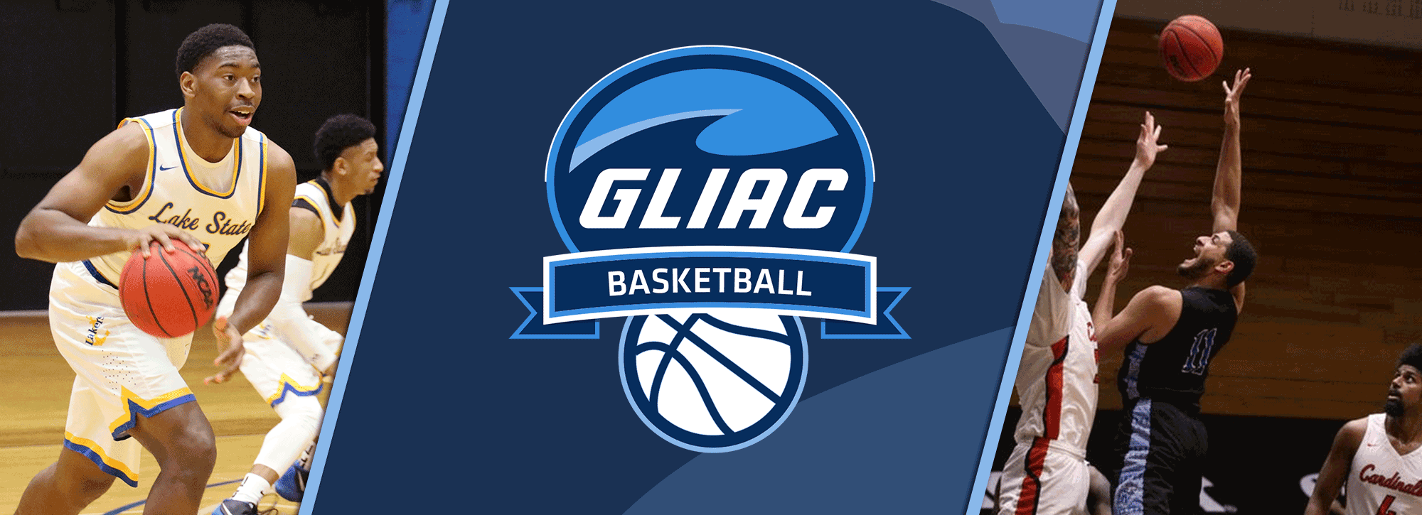 LSSU's Bassett, GVSU's Negron Claim GLIAC Men's Basketball Weekly Honors