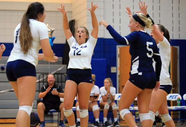 CFCC Volleyball Earns Clutch Win