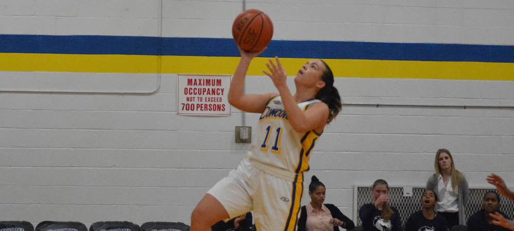 Women's Basketball Opens Home Schedule With 84-82 Victory Over Mercy
