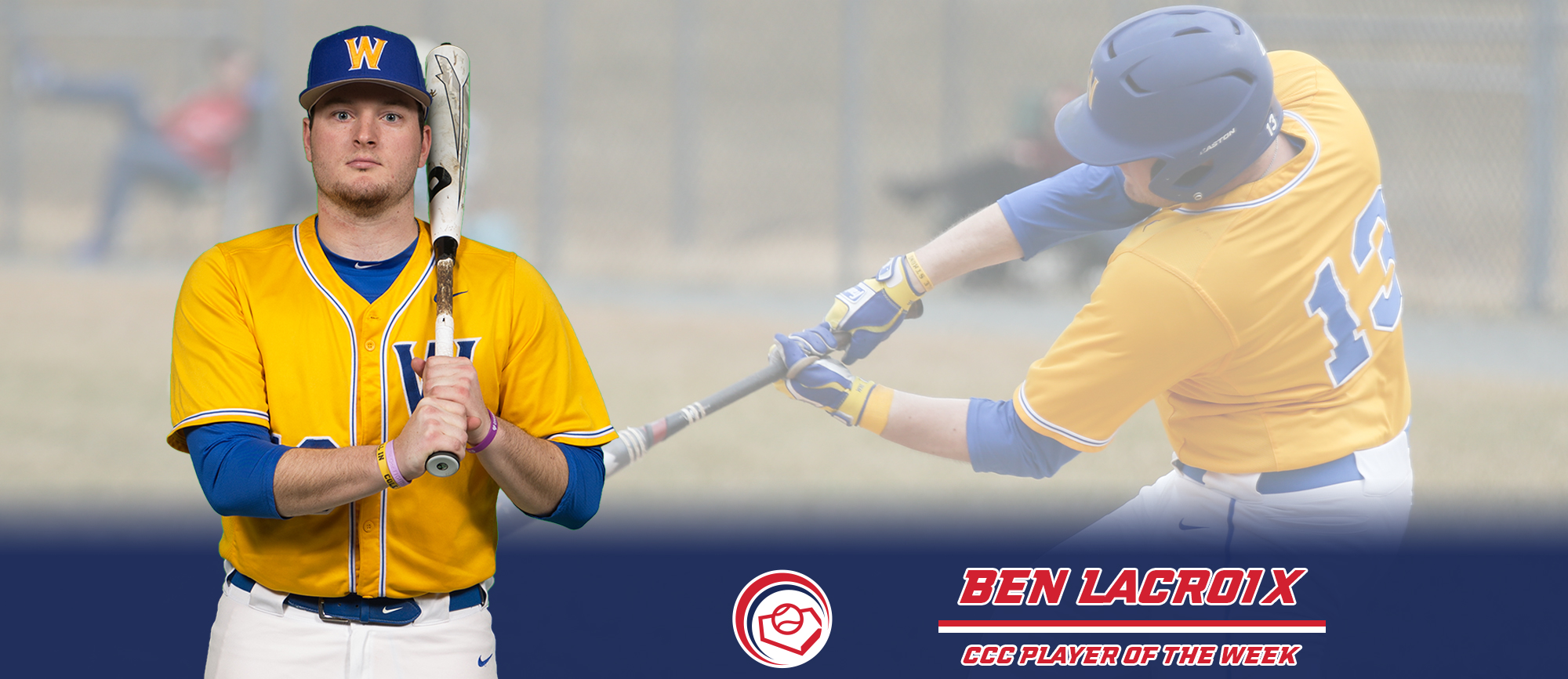 Ben LaCroix Named CCC Player of the Week