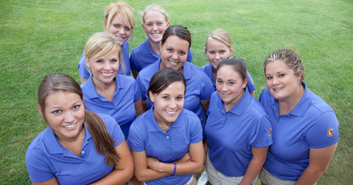 Women's golf team opens fall slate at Drakes Creek