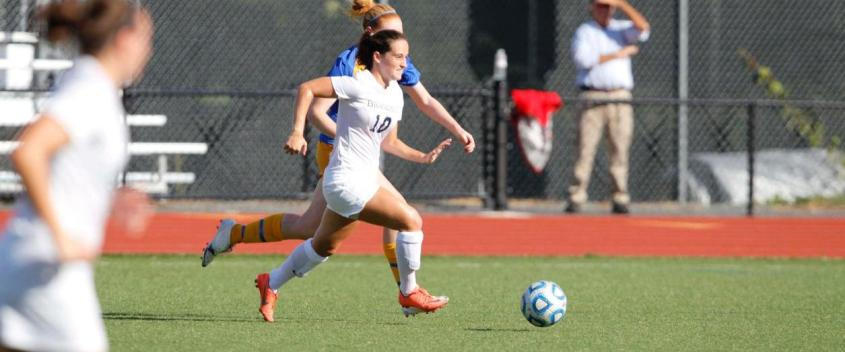 Spivack score stands up as women blank Lesley, 1-0, to tie shutout record