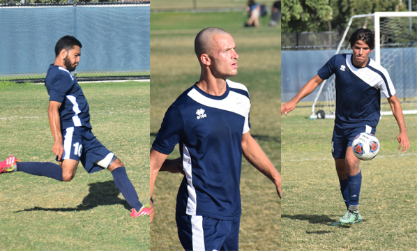 Six men's soccer players named to all-conference teams