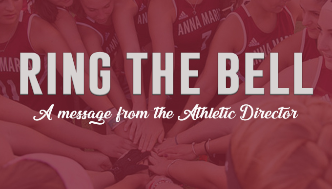 Ring The Bell - A message from the Athletics Director