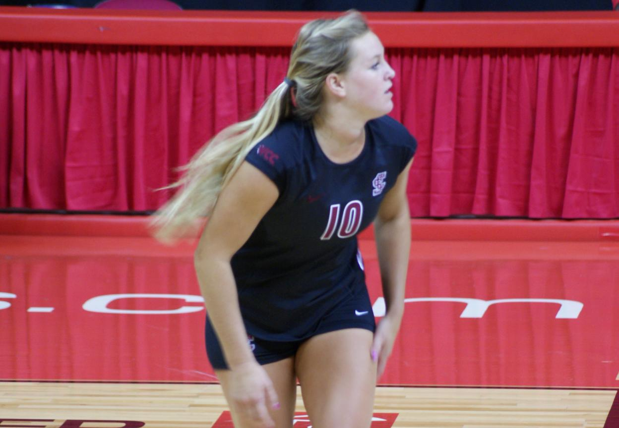 Local Girl Kaleigh Durket Looks to Impress One Last Time on Volleyball Court