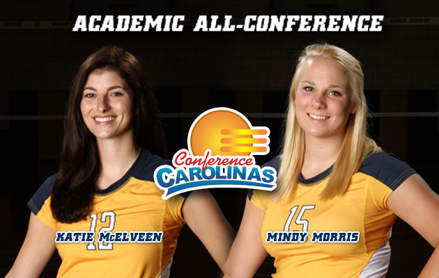 Coker's McElveen, Morris Named Academic All-Conference