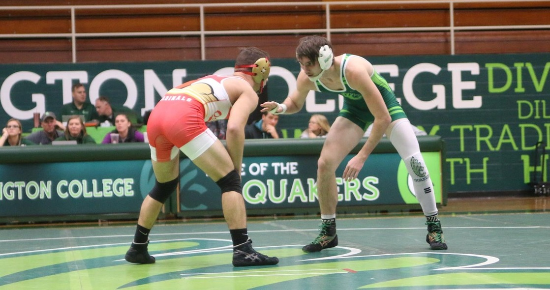 Schirmer Wins Match for Wrestling at Gator Boot Duals