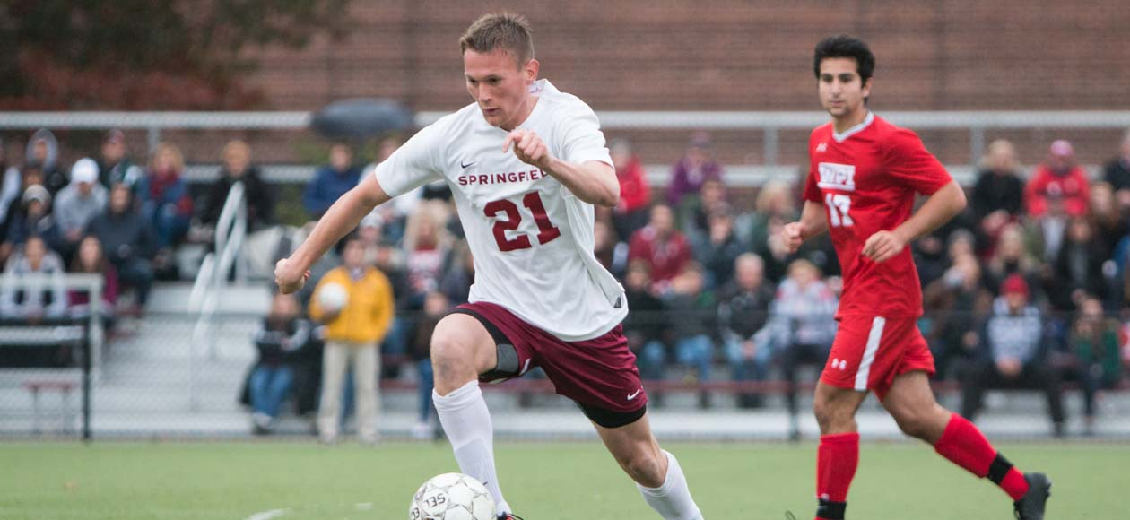 No. 22 Men's Soccer Falls to WPI via Penalty Kick Shootout in NEWMAC Championship