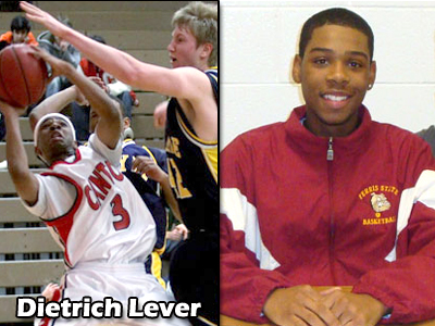 Canton's Dietrich Lever signed with the Bulldogs (Photos Courtesy - PlymouthCantonSports.com)